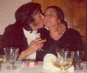 Bambino y su madre Frasquita